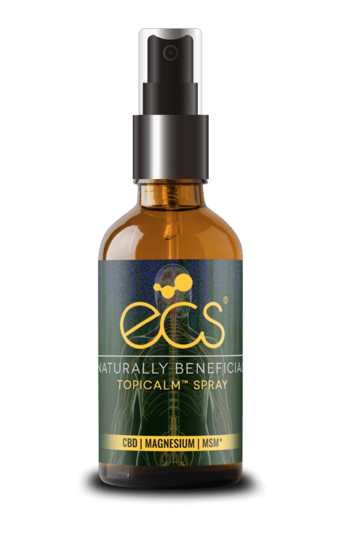 ECS CBD Topicalm Spray - Topical Use - 30ml - 200mg CBD